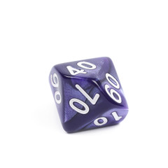 Roleplaying polyhedral dice isolated
