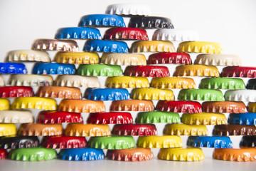 Cap bottles soft drinks