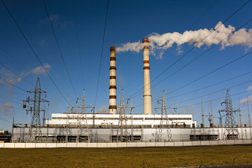 power plant ,  Belarus
