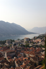 roofs of the old Kotor