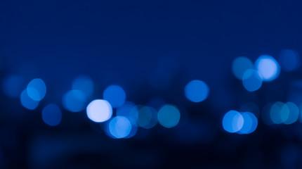 City night light blur bokeh , defocused background.