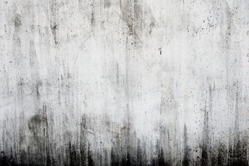 汚れたコンクリートの白い壁 Fototapete