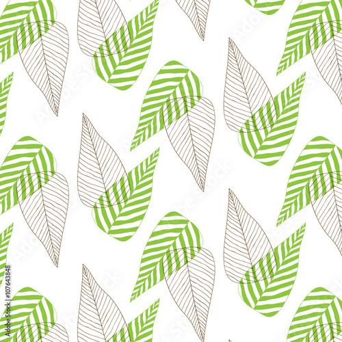 Wallpaper Design Print Texture Fabric Vector Illustration