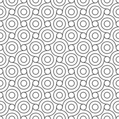 Seamless Geometric Pattern. Regular Tiled Ornament. Vector.