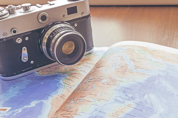 photo tour and book, travel, tour, tourism concept
