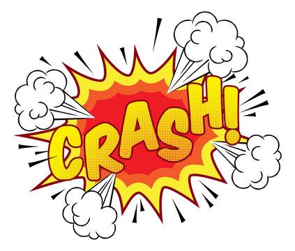 Cartoon Comic Book Crash Explosion Sound Effect