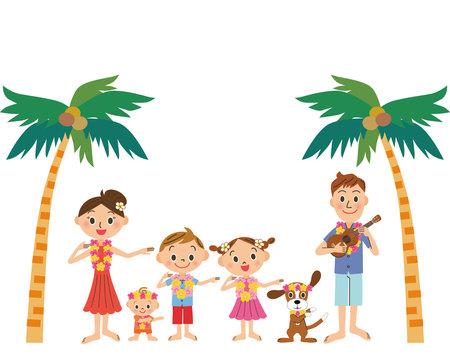 ハワイ旅行と家族