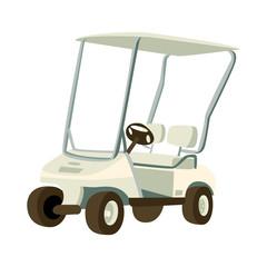 cute golf car. golf kids.