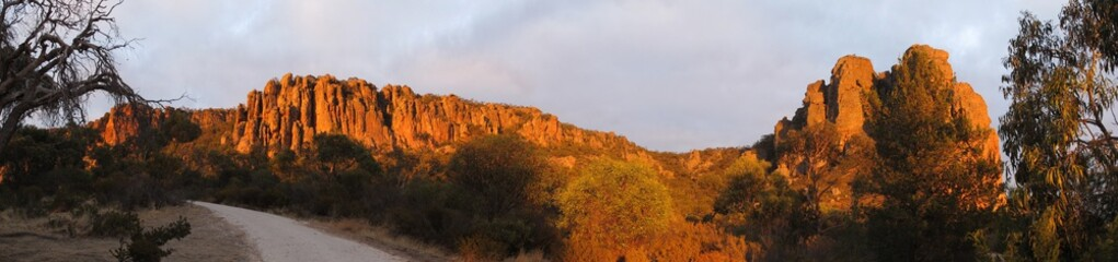 Mount Arapiles near Natimuk, Victoria, Australia