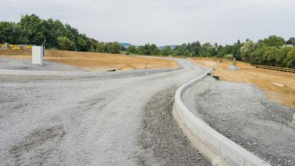 Baustelle Strassenbau