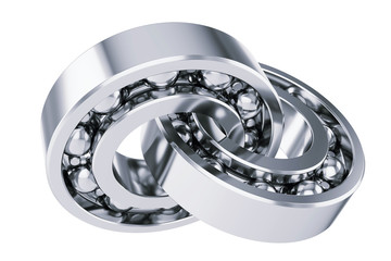 Intersecting ball bearings