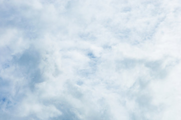 Fototapete - White cloud and sky background