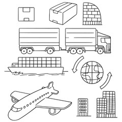vector set of logistic