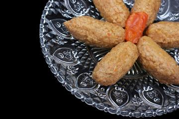 Fish sticks (Gefilte fish) - traditional Jewish food