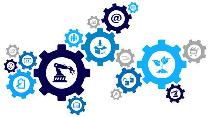 Interactive Company Processes Design