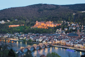 Heidelberg Castle and Old Bridge