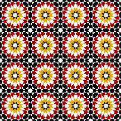 moroccan zellige seamless