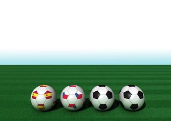 EM 2016 Gruppe D Spanien - Tschechien