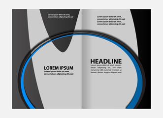 modern vector brochure