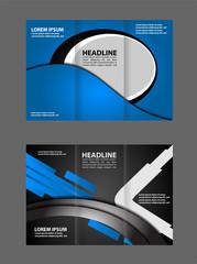 business brochure design. vector