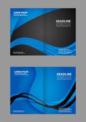 Leaflet template design
