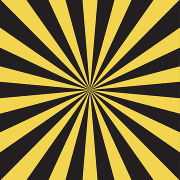 Vector modern stripe rays background