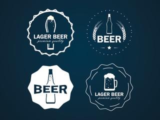 round beer logos