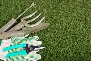 Garden tools equipment for essentials gardener use.
