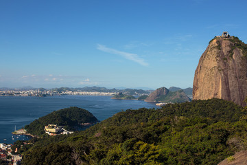 evening Sugar Loaf mountain at Rio