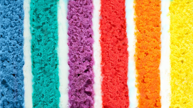 Background of multicolor  cake