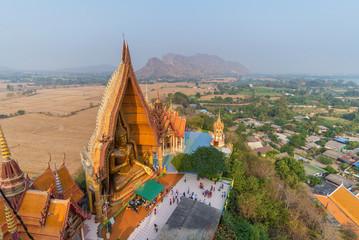 Big Beautiful Buddha statue at Tiger Cave Temple (Wat Tham Sua),