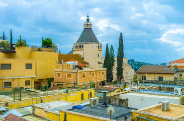 The roofs of Nazareth