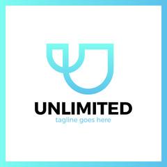Unlimited Logo - Letter U