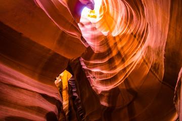 Colorful Antelope canyon, Arizona