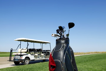 Golf club and golf car
