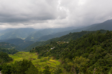 Batad rice terraces in Ifugao, Philippines.