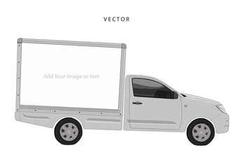 Truck for warp Vector