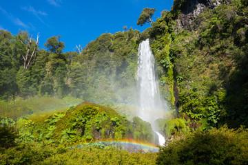 Salto El Leon waterfall, Pucon, Chile