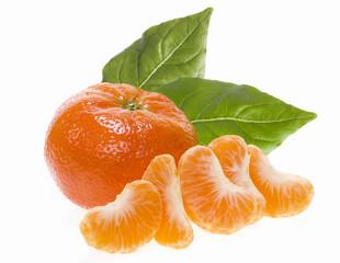 Klementine als Freisteller