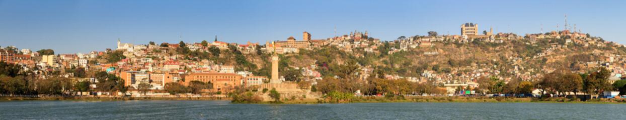 Beautiful panorama cityscape of Antananarivo, Madagascar