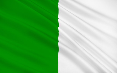 Flag of County Limerick is a county in Ireland
