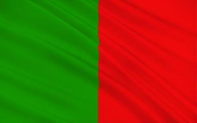 Flag of County Mayo is a county in Ireland