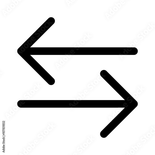 File Transfer Or Money Line Art Icon For S And Websites