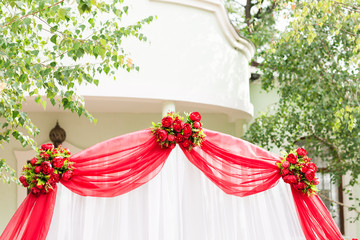 Wedding Ceremony Decorations Outdoors