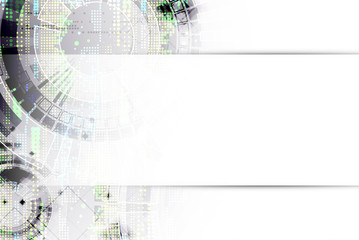Abstract background. Futuristic technology style. Structure patt