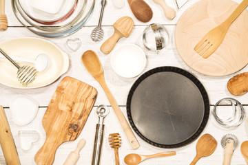 Various kitchen utensil