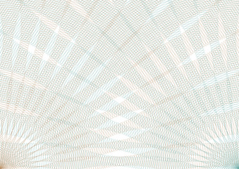 Guilloche vector background grid