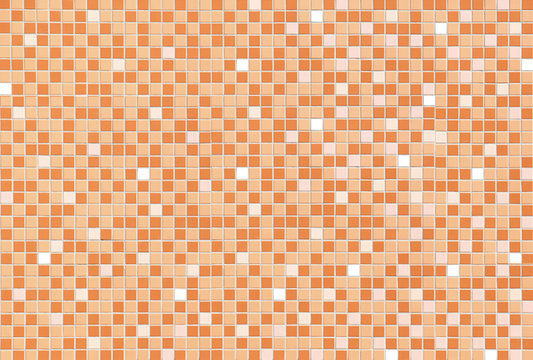 Pattern and Texture of Mosiac tile wall