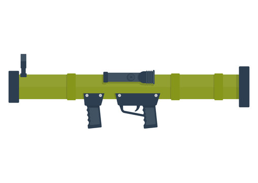 bazooka vector illustration.
