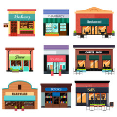 Different Shop Icons